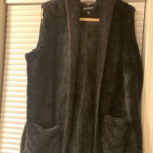 Fluffy and super soft vest